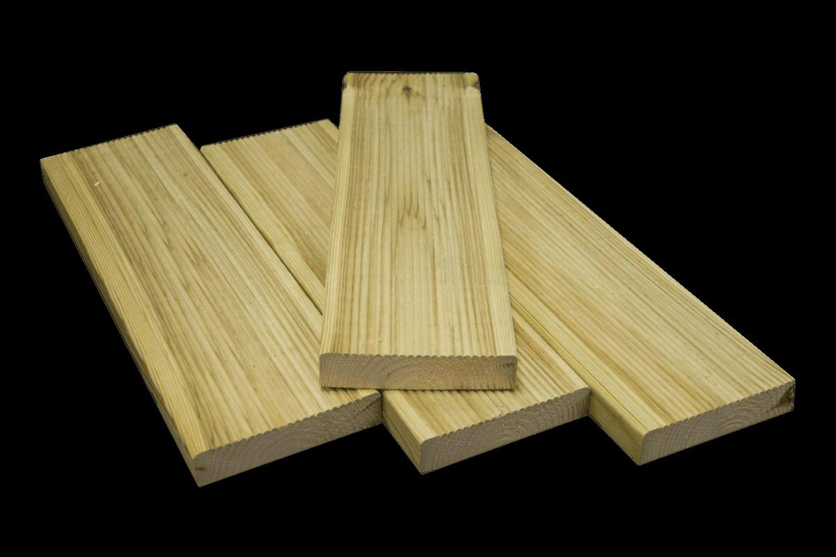 28×120 Deck – Green pine